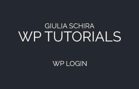 Come effettuare il login con Wordpress